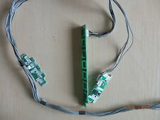 IR SENSOR + BUTTON + MODULE from SHARP LCD TV LC-40LE812E