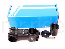 """GIANT Contact OD2 Stem 70mm +/- 8 degree Black 1-1/4"""" and 1-1/8"""" spacer"""