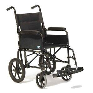 "Lomax Uni 9HD Bariatric Attendant Controlled Heavy Duty Wheelchair 20 x 17"""