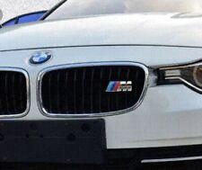 Logo BMW M Calandre en métal Chromé avec Fixations Neuf