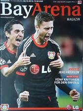 Programm 2013/14 Bayer 04 Leverkusen - FC Augsburg