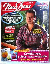 NOUS-DEUX du 24/06/2014; Interview Laurent Gerra/ Cuisine Gourmande