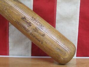 "Vintage 60s Louisville Slugger Baseball Bat HOF Mickey Mantle Special Model 32"""