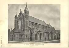 1900 Chiesa di San Pietro a sud Tottenham JS Alder ARCHITETTO