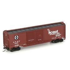 Athearn # 98101 50' Double Door Box SANTA FE/Scout # 10318 HO