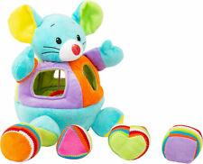 Legler Motorikspielzeug Steck Maus Stoffspielzeug Baby Rassel Geräuschfunktion