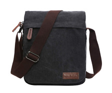 Messenger Shoulder Crossbody Bag Ipad Travel Day Pack Work School Man Women