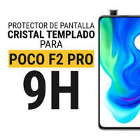 Sentete® Xiaomi Poco F2 Pro Protector de Pantalla de Cristal Templado PREMIUM