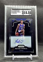 Matisse Thybulle 19-20 Panini Prizm #290 SSP Base Rookie Rc Auto SGC 10 / 8.5