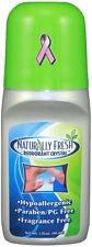 Deodorant Crystal Roll-On, Naturally Fresh, 3 oz