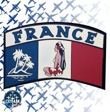 Patch France Tahiti Pacifique gomme 3D