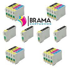 20X COMPATIBLES PARA EPSON NON OEM T0611-614 D68  DX 5850  DX 4850  DX 4850+