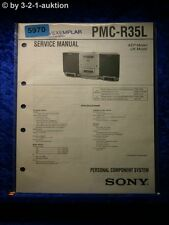 Sony Service Manual PMC R35L Personal Component System (#5970)