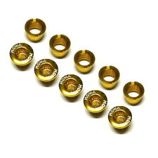 gobike88 MOWA Crank Bolts, for Shimano SRAM and Compatible, Gold, 965