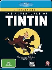 The Adventures of Tintin Remastered NEW B Region Blu Ray