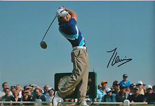 TOM LEWIS SIGNED Autograph Golf BMW Wentworth 12x8 Photo AFTAL GOLF In Person