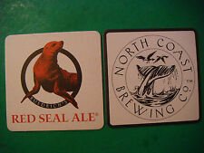 Beer Coaster: NORTH COAST BREWING Company ~ Ft. Bragg, California ~ Red Seal Ale