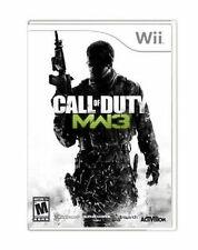 Call of Duty: Modern Warfare 3  (Nintendo Wii, 2011) Complete