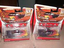 2 Disney Pixar Cars Greta New 2013 Retro 6 of 8 Radiator Springs Die-Cast
