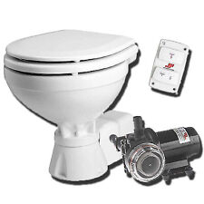 Johnson  Compact 12 Volt Marine Boat Toilet c/w water pump and macerator