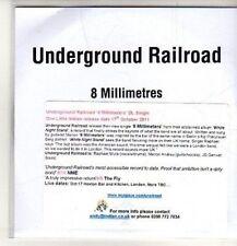 (CO348) Underground Railroad, 8 Millimetres - 2011 DJ CD