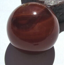 RARE OLD LARGE BANDED CARNELIAN AGATE EYE IDAR-OBERSTEIN BEAD 24mm x 24mm*