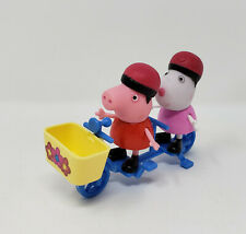 Peppa Pig Peppa & Suzy Sheep Cycling with Friends Figure 2 Seat Bicycle HTF