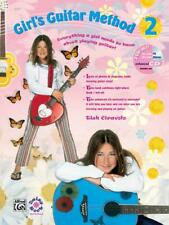 Girls Guitar Method 2 Songs Tunes Learn to Play Guitar MUSIC BOOK & CD