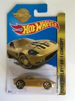Hot Wheels 2016 MAIL IN EXCLUSIVE GOLD EDITION FORD SHELBY GR-1 CONCEPT CAR