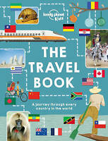 NEW The Travel Book By Lonely Planet Kids Hardcover Free Shipping