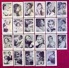 Lilian Harvey 1932 Josetti Cigarette Cards Lot of 23