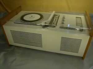 "Firma Braun SK61 Phonogerät ""Schneewitchensarg"" 1962 top Zustand 100% original"