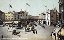 B85184 piccadilly circus and regent street chariot    london uk