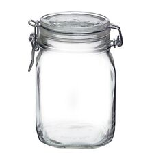 1 x Bormioli Rocco Fido Swing Top Preserving Canning Bottle Jar 1 litre