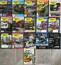 Lot 12 Railroad Model Craftsman Magazines 1980-2010 + 4 More Train Books