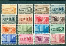 Venezuela - Sc# C613-28. 1956 Buildings. Never Hinged. $42.00.