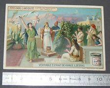 CHROMO LIEBIG OXO 1908 FETES ANTIQUITE FETE DES TABERNACLES DES HEBREUX