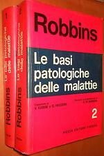 ROBBINS, Le basi patologiche delle malattie - Piccin editore, 1979 (2 volumi)