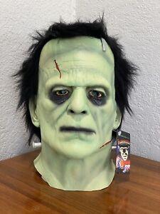 Frankenstein Boris Karloff Mask Halloween Universal Monsters Trick or Treat Std