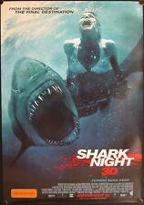 Shark Night 3D (2011) Australian One Sheet