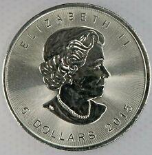 2015 Canadian Maple Leaf 1 OZ Canada $5 Coin Silver Round .999 Fine g279