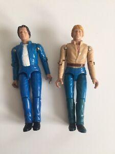 "Vintage Dukes Of Hazzard Bo and Luke Action Figure Mego 3 3/4"""
