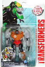 Transformers Warrior Class ~ GOLD ARMOR GRIMLOCK Figure ~ Robots in Disguise