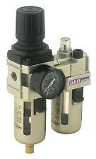 Sealey Compresseur Air Filtre régulateur & GRAISSEUR / huile mélange 0.6cm BSP
