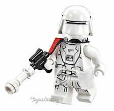 LEGO STAR WARS - FIRST ORDER SNOWTROOPER OFFICER 75100 - ORIGINAL MINIFIGURE