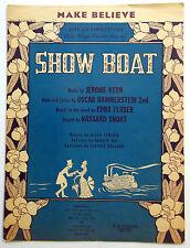 Broadway Musical Sheet Music Make Believe Show Boat Kern & Hammerstein