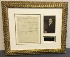 John Jacob Astor Autographed Document Signed 1796 Ads finance wall st. Bas psa