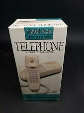 BellSouth Straight Talk 210 Land Line Telephone Desk Wall Phone Almond NEW Retro