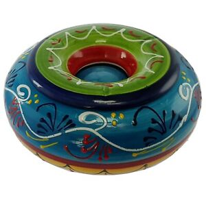 Extra Large Spanish Water Ashtray 24.5 cm x 10 cm Spanish Handmade Pottery