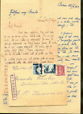 CROATIA (NDH) WWII - LETTER WITH INTERESTING AND COMPLETE CONTENT SENT FROM ĐAKO